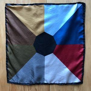 Vintage Italian silk scarf